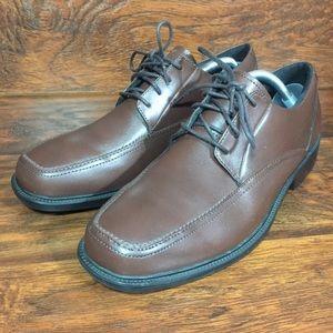 Bostonian Lite Brown Leather Shoes Oxfords Men 9.5